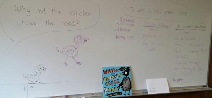 chicken art board